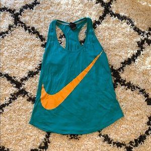 Nike teal tank top. Size XS.